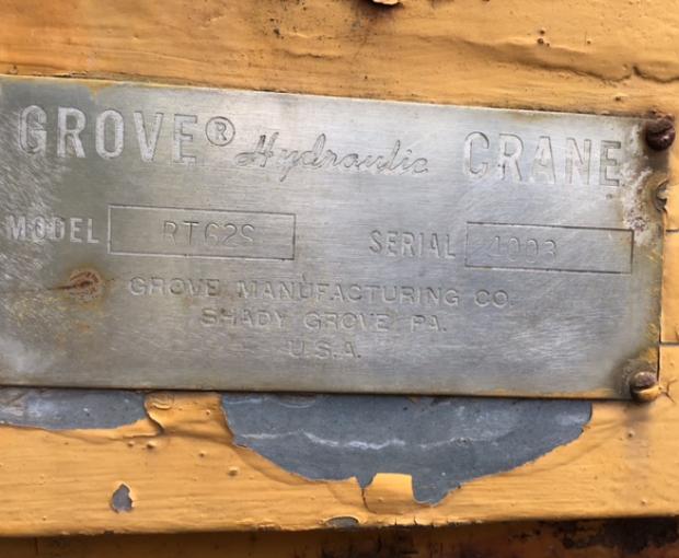 1969 Grove RT 62S 3