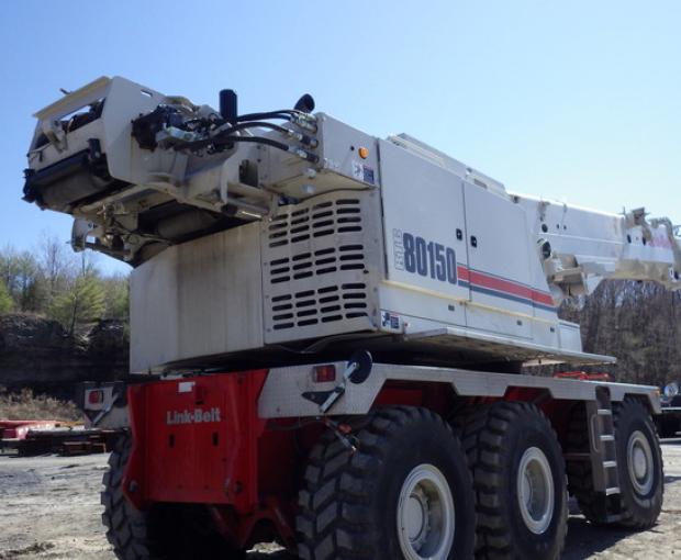 2017 Link Belt RTC-80150-II Rough Terrain Crane  2