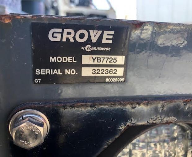 2015 Grove YB7725 21