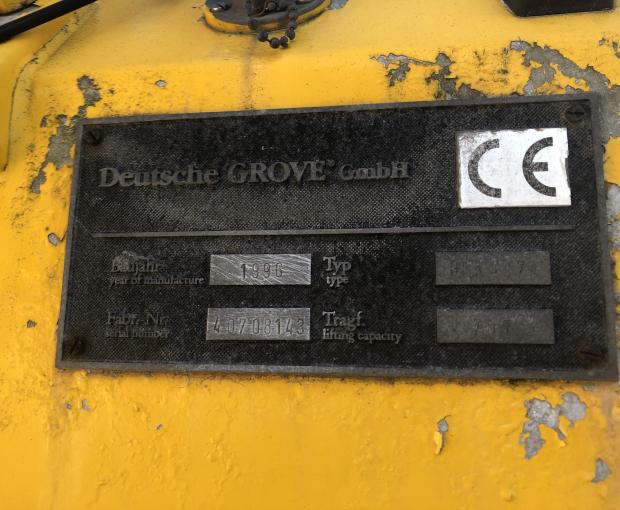 1996 Grove GMK 4070 4