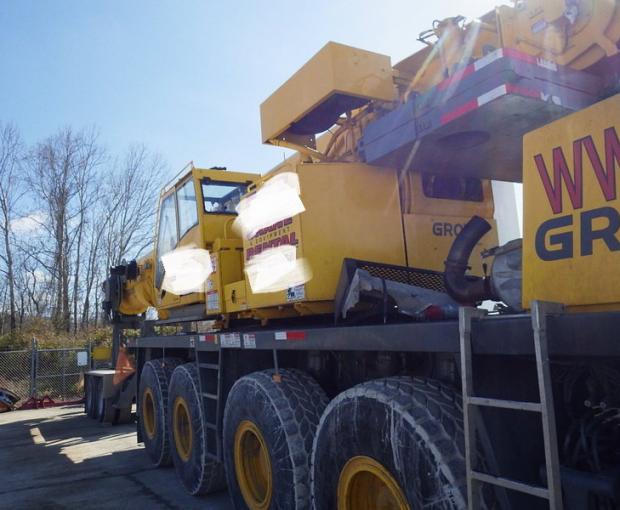2007 Grove GMK5130 All-Terrain Hydraulic Crane 15