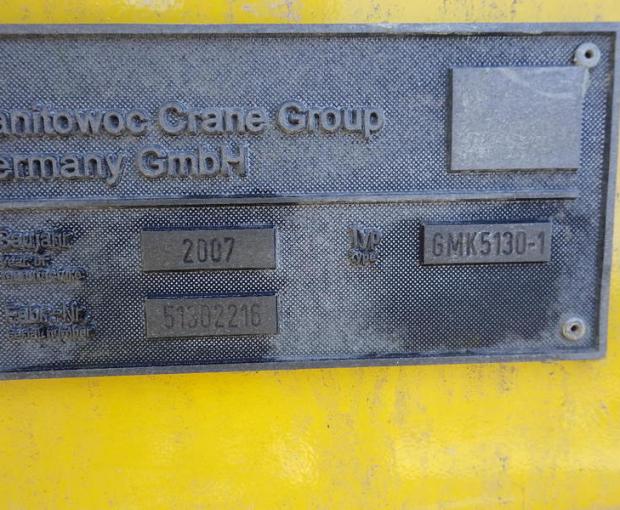 2007 Grove GMK5130 All-Terrain Hydraulic Crane 35