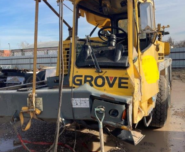 2004 Grove TMS9 Crane 9