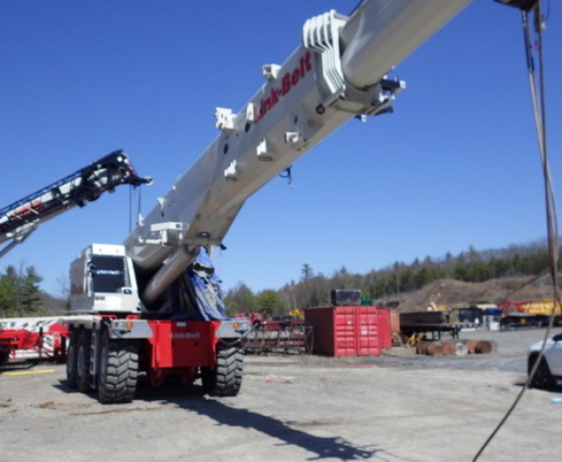 2017 Link Belt RTC-80150-II Rough Terrain Crane  3