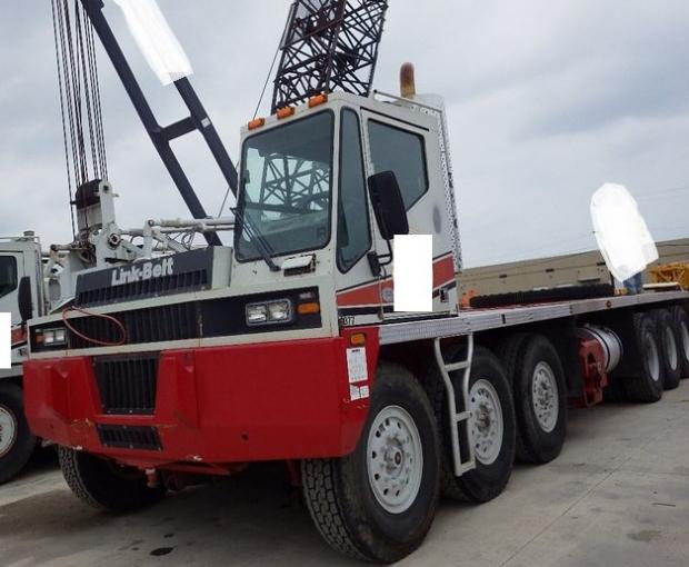 2008 Link-Belt HC-278H II Conventional Truck Crane