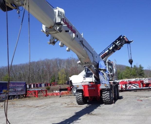 2017 Link Belt RTC-80150-II Rough Terrain Crane