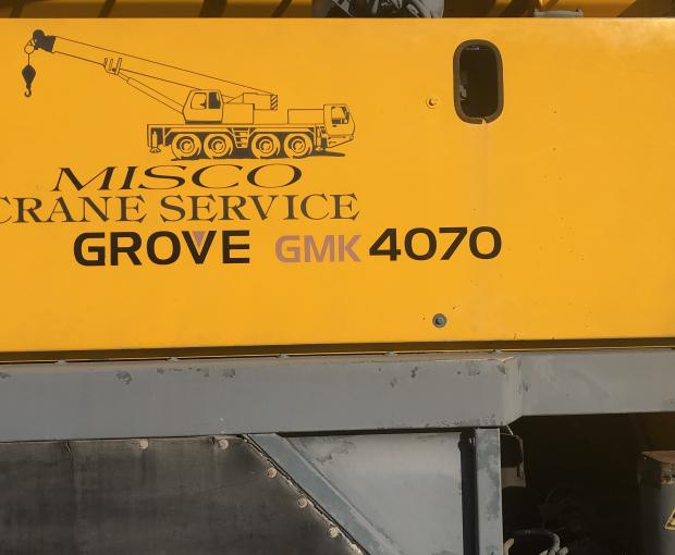 1996 Grove GMK 4070 3